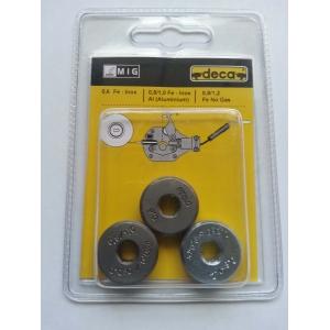 kit de 3 galets pour posteDECA Starflux- Startwin - Decastar et D-Mig 400
