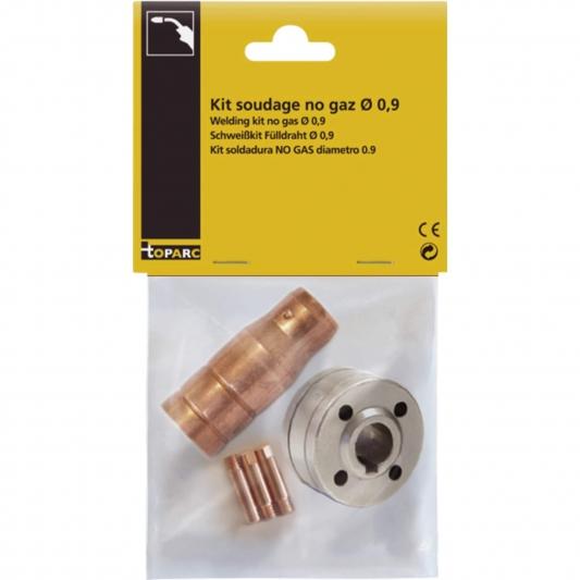 kit soudage sans gaz pour poste Gys pour fil fourré Ø 0,9 mm
