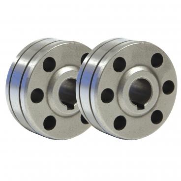 2 Galets  pour fil aluminium  Ø 0,8 -  1 mm  soudure MIG poste GYS