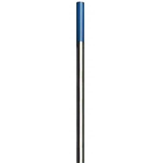 10 électrodes Tungstène Lanthane (bleue) pour soudure TIG universel