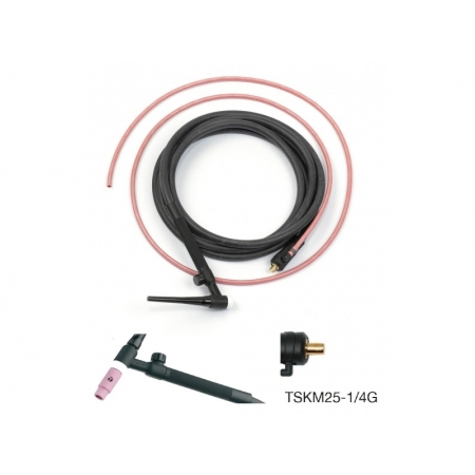 Torche pour soudure TIG 140 A Trafimet connecteur 25 mm²