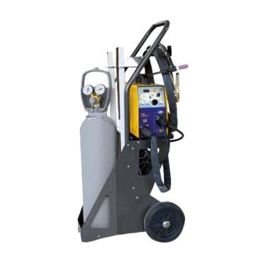 Chariot pour poste à souder ou TIG + bouteille de gaz