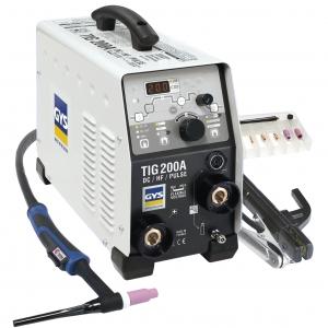 Poste à souder GYS TIG 200 DC HF FV