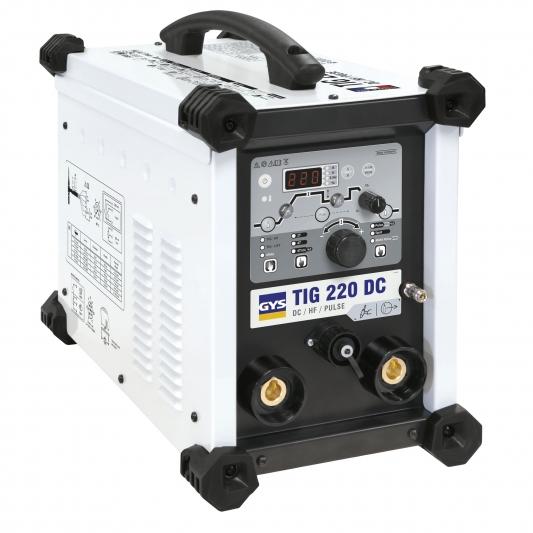 Poste à souder GYS TIG 220 DC HF FV sans accessoires