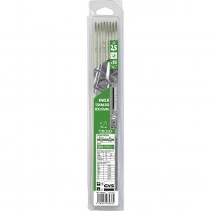 10 électrodes 316 L pour soudure inox Ø 2,5 mm GYS