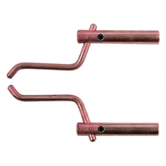 2 bras droit 120 mm + 2 électrodes inclinées Ø 12 mm Modular 230 et 400 Telwin