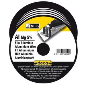 Fil Aluminium diametre 0,8 mm  pour soudure MIG    DECA bobine 400 grs