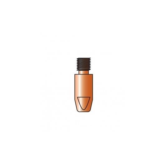 10 tubes contacts  TRAFIMET  pour soudure aluminium filetage M8