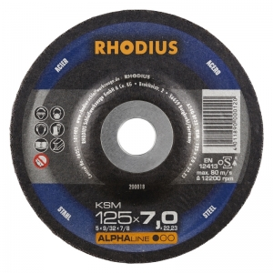 Meule à ébarber   Ø 125 mm  Rhodius