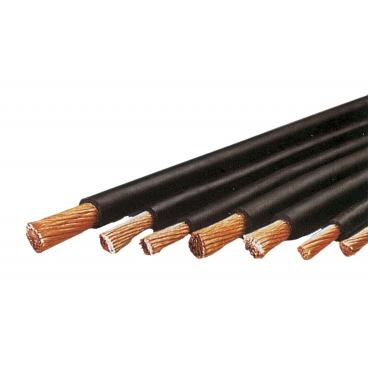 Câble de soudage en cuivre isolé caoutchouc