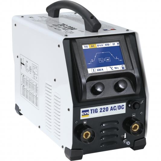 Poste à souder GYS TIG 220 AC/DC HF FV  sans accessoires