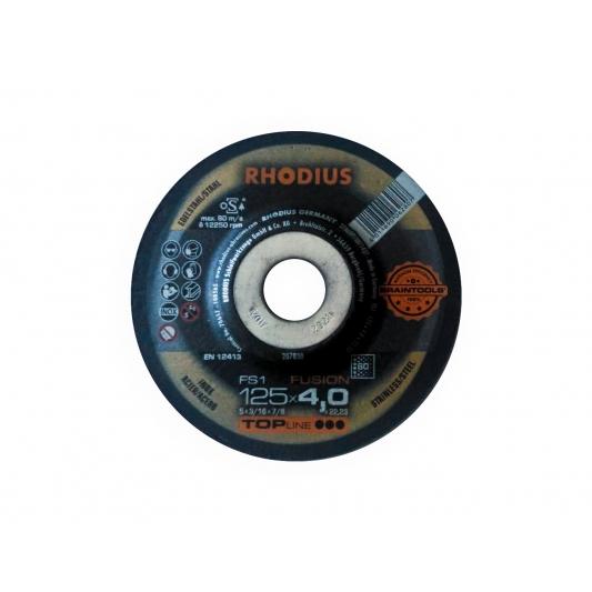 Meule à ébarber L' inox  Ø 125 mm  Rhodius FS1