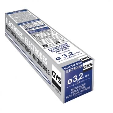 165 électrodes rutiles pour soudure acier Ø 1,6 mm  GYS