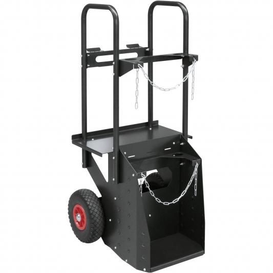 Chariot  GYS  pour poste à souder  TIG   bouteilles jusqu'à 10 m3
