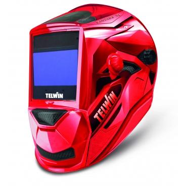 Cagoule de soudure  LCD  TELWIN VANTAGE  RED XL