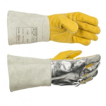Gants soudeur Wedas 10-2755-XL renforcé et dos aluminisé