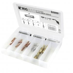Coffret d'accessoires pour torche mig MB 15 150A