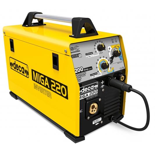 Poste MIG-MAG semi automatique  multi-procédés DECA  MIGA 220