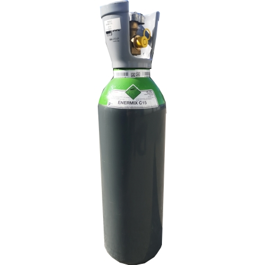 Bouteille rechargeable de gaz soudure  Enermix C15 SOL