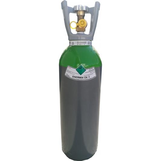 Bouteille rechargeable de gaz soudure  Argon + O²  Enermix OX2 SOL
