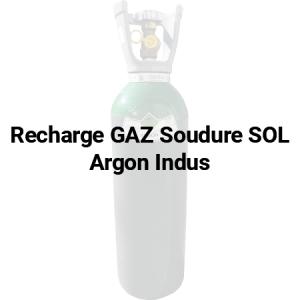 Recharge de gaz Sol Argon Indus