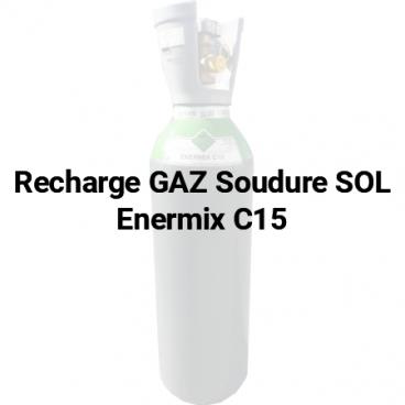 Recharge de gaz Sol Enermix C15