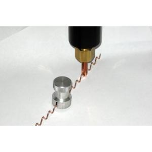 Support magnétique de maintien de fil ondulé avant soudure