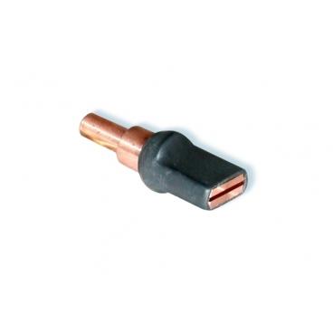 Electrode pour bouchon entaillée