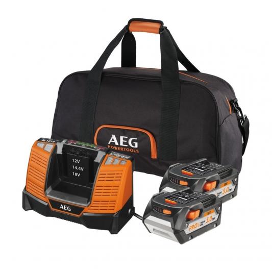 Pack batterie 5 Ah lithium 18 V AEG