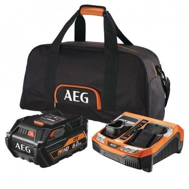 Pack batterie 6 Ah lithium 18 V AEG