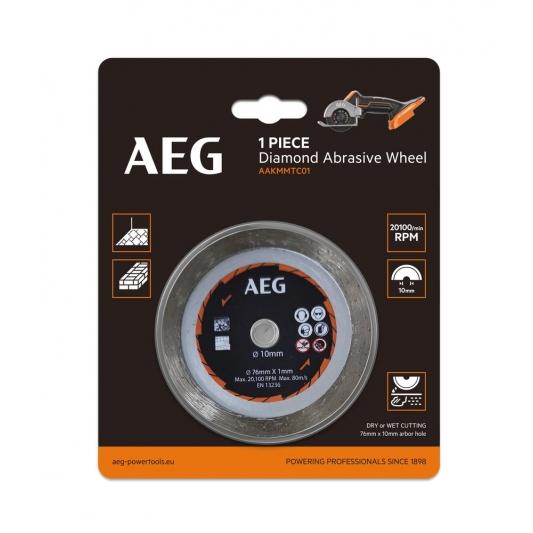 Disque Ø 76 mm pour multi-scie AEG
