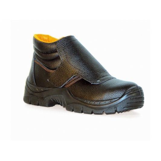 Chaussure de soudeur BUD avec rabat protège lacets