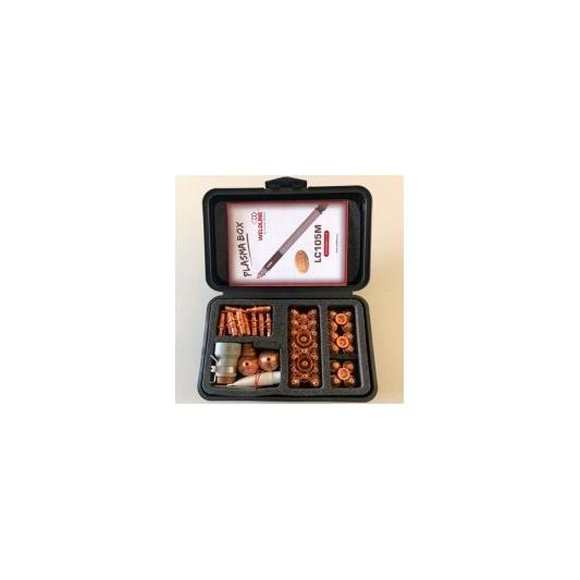 Coffret d'accessoires pour torche Plasma Lincoln LC 105 manuelle