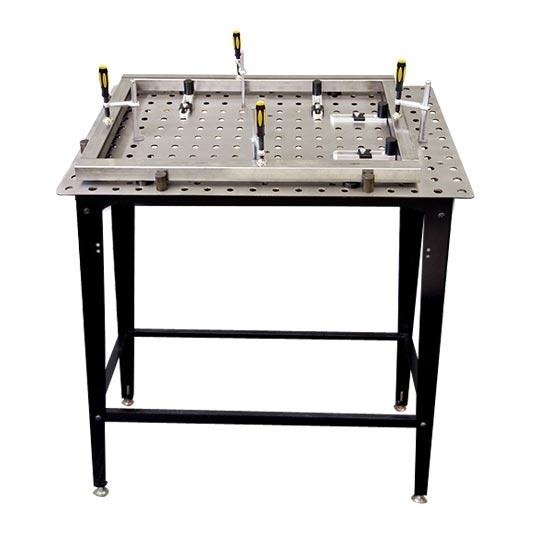 Table de soudage modulaire  StronghandTools + kit  pour profilé carré