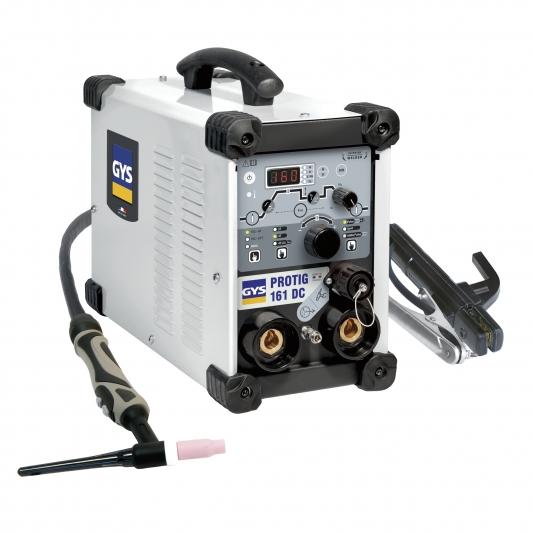 Poste à souder GYS PROTIG 161 DC HF avec torche TIG 4m