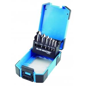 Coffret de Fraise à chanfreiner 3 dents HSS angle 90 °  pour inox