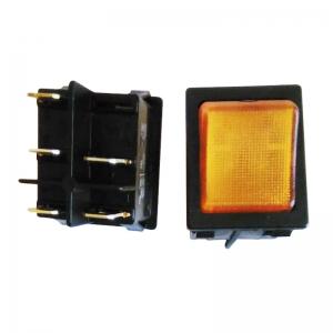 Interupteur  orange  marche / arrêt
