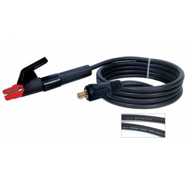 Porte électrode 250 A + câble  35 mm² connecteur TX 50