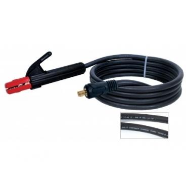 Porte électrode 200 A + câble  25 mm² connecteur TX 25