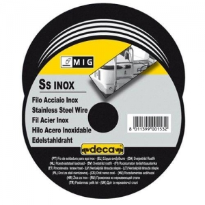 Fil inox diametre 0,8 mm pour soudure MIG DECA bobine 700 grs